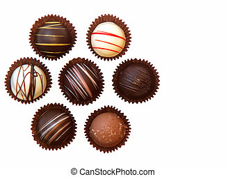 chocolate candies - assorted chocolate candies