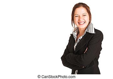 negócio, mulher, #342