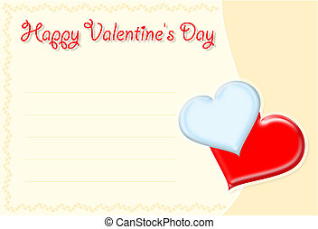 Valentine\\\'s card - Happy Valentine\\\'s day
