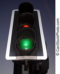 Traffic Light is Gre - Traffic light in south london