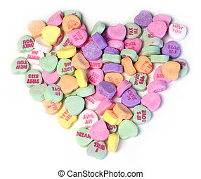 Candy Hearts - Candy heart
