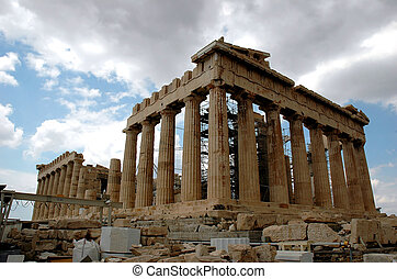 Parthenon at Athens Acropolis