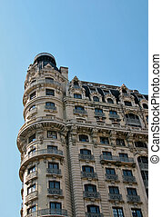 Ansonia building - New York Landmark against the sky