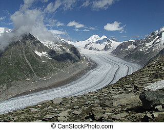 Aletsch Glacier - Switzerland: Biggest Glacier in the Alps