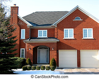 New luxury home - New luxury brick home