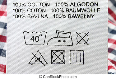 100% cotton  - real