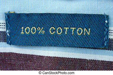 100% cotton - real m