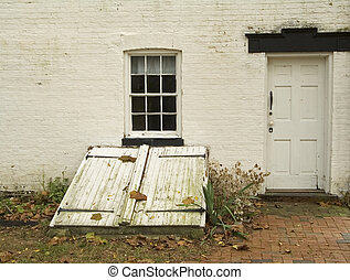 Cellar Door - This is a shot of an old cellar door on an old...