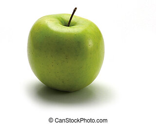 Green apple - One green apple