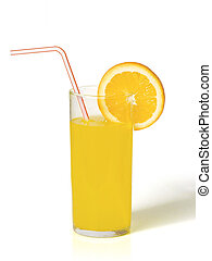 Orange juice - A glass of orange juice