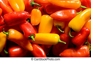 A Collection of Sweet Peppers 3 - Photo of a collection of...