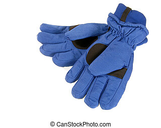 Gloves - Mens blue gloves