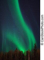 V-shaped Aurora