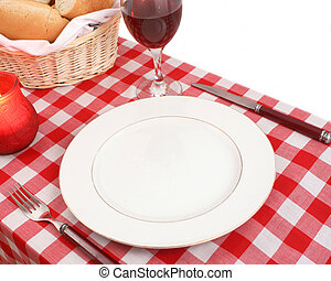 table setting - Meditteranean table setting