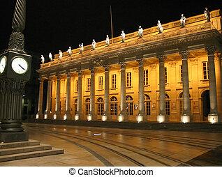 theater of Bordeaux  - monument of Bordeaux France
