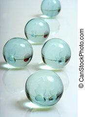 bath beads - aqua bath oil balls