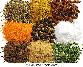Spices - A collection of spices