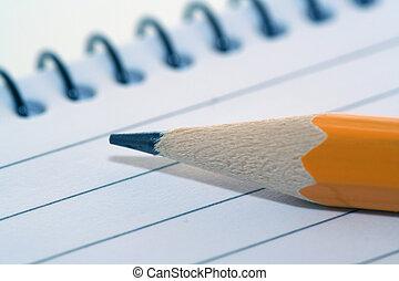 vaddera, blyertspenna