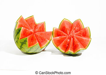 water melon - view of water melon decorated