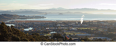 Larkspur Corte Madera Panorama - A high resolution panorama...