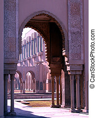 arches of the mosque