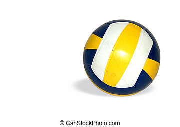 Volley Ball - Blue Yellow Ball