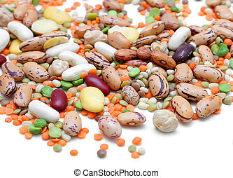 Mixed Legumes - Mixed legumes: peas, lentils, beans and...