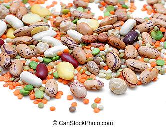 Mixed Legumes - Mixed legumes: peas, lentils, beans and...