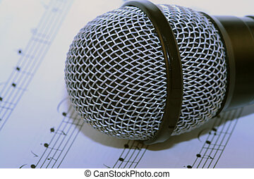 Microphone - microphone and music