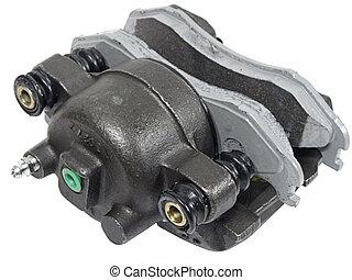 Brake Caliper - Shot of a new brake caliper loaded with...