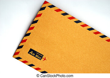 Envelope - Standard Airmail Envelope.