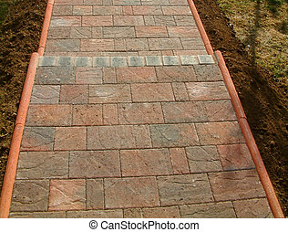 block paving steps - details of block paving steps
