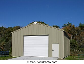 New Garage - New constructed garage
