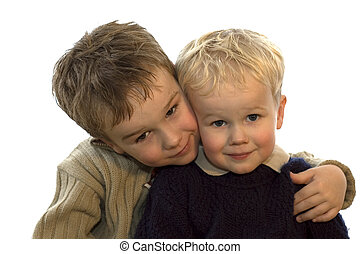 Two Brothers 1 - Two lovely brothers, 5 and 2 years of age...