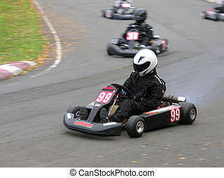 Cornering Go Kart - A cornering go-kart with more in the...