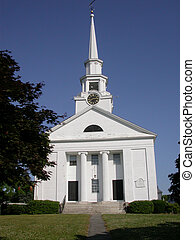 New England Church - Typical example of traditional New...
