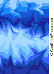 Blues - Blue background design
