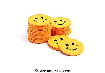 Stack of smilies
