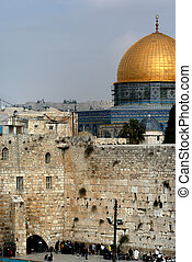 Wailing wall - Old Jerusalem