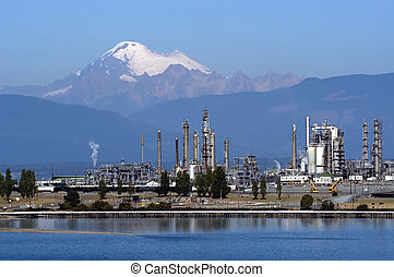 Protecting environme - Oil refinery in Anacortes, WA