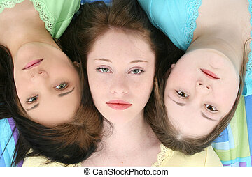 Teen Friends Faces