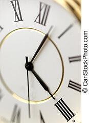 clock in macro