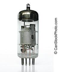 Vacuum tube closeup