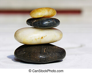 Balance - Pebbles balancing on top of each other