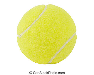 Tennis Ball - Isolated shot of a tennis ball