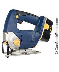Cordless Jig Saw - Isolated Jig Saw Scroll Saw