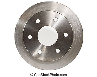 Disc Brake Rotor - Picture of a Disc Brake Rotor for a car