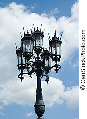street lights in Dresden, Germany
