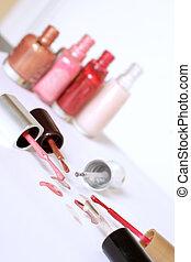 nail polish - different colors of nail polish