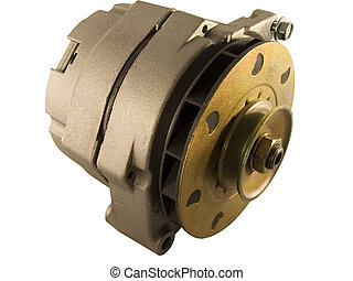 Car Alternator - Shot of a New Alternator